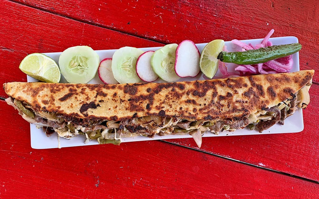 Gather Your Friends and Try a Two-Foot-Long Machete Quesadilla at These Four Austin Trailers