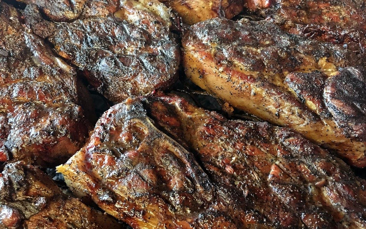 snow's pork steak