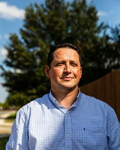 Republican congressional candidate Tony Gonzales in San Antonio in September.