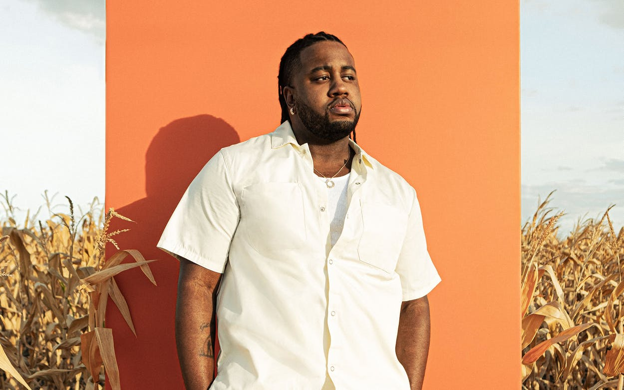 San Antonio R&B musician Xavier Omär.