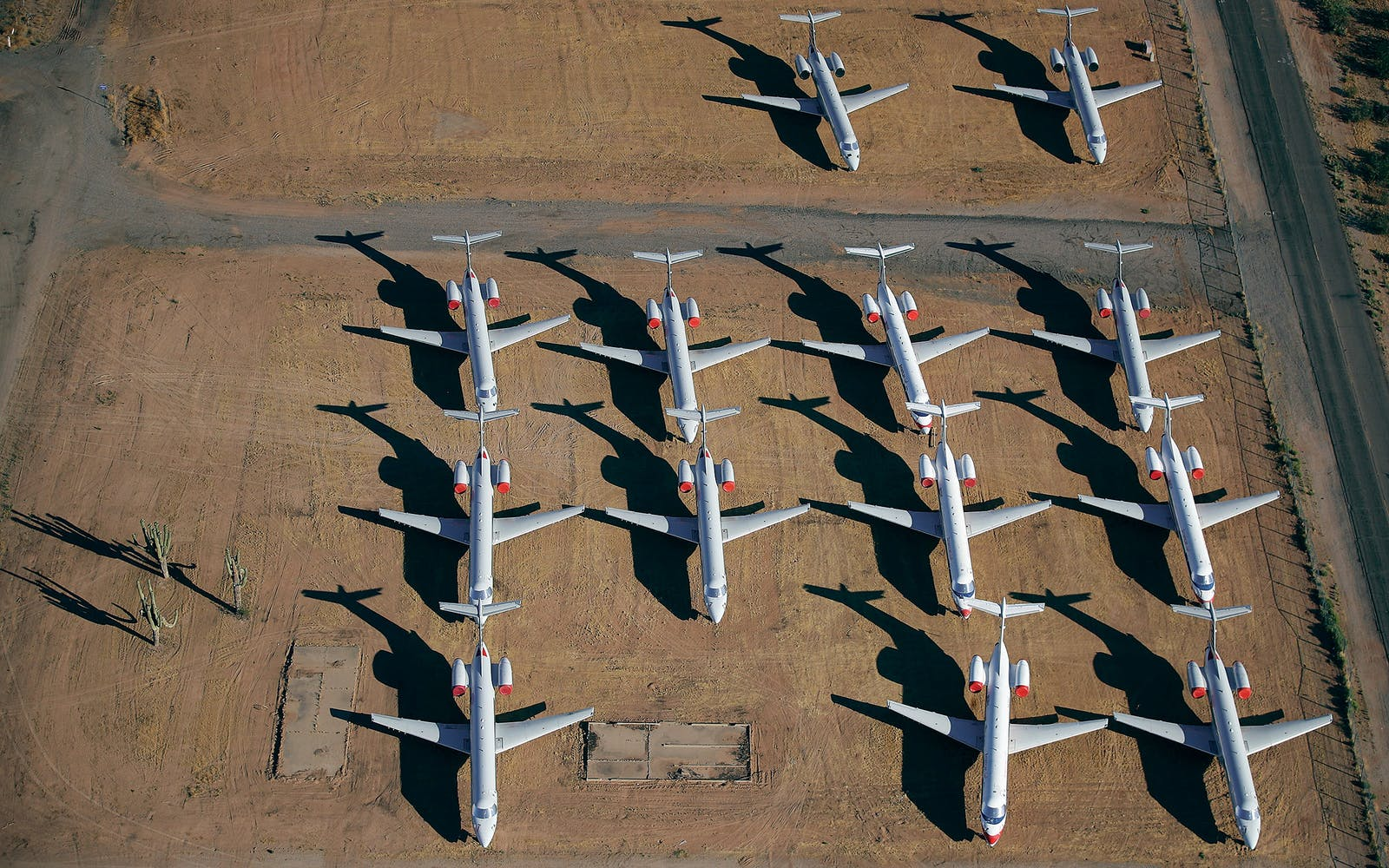 Decommissioned American planes.