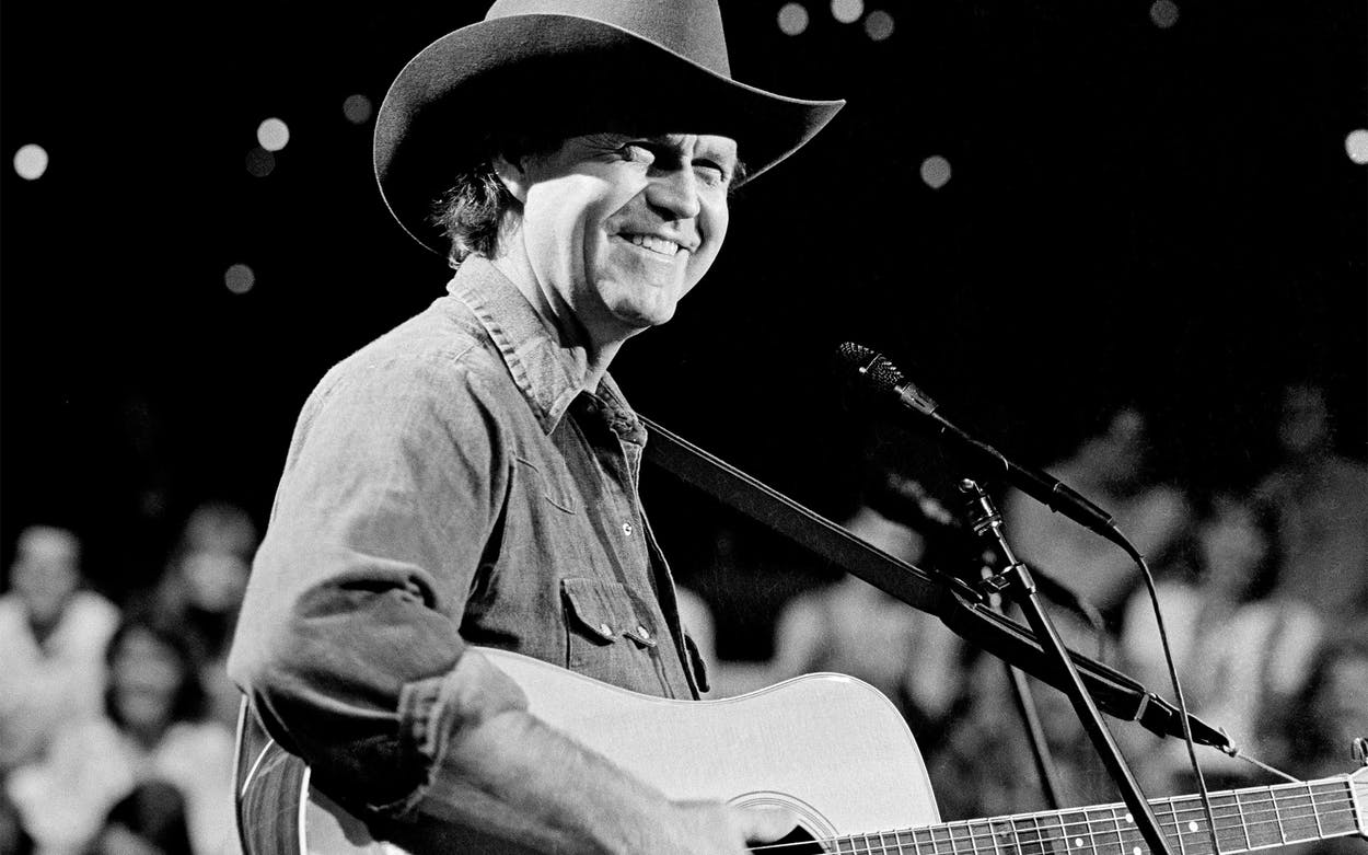 Billy Joe Shaver during an Austin City Limits performance in 1985.