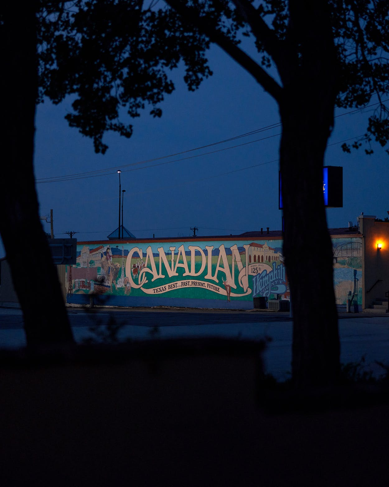 Canadian downtown