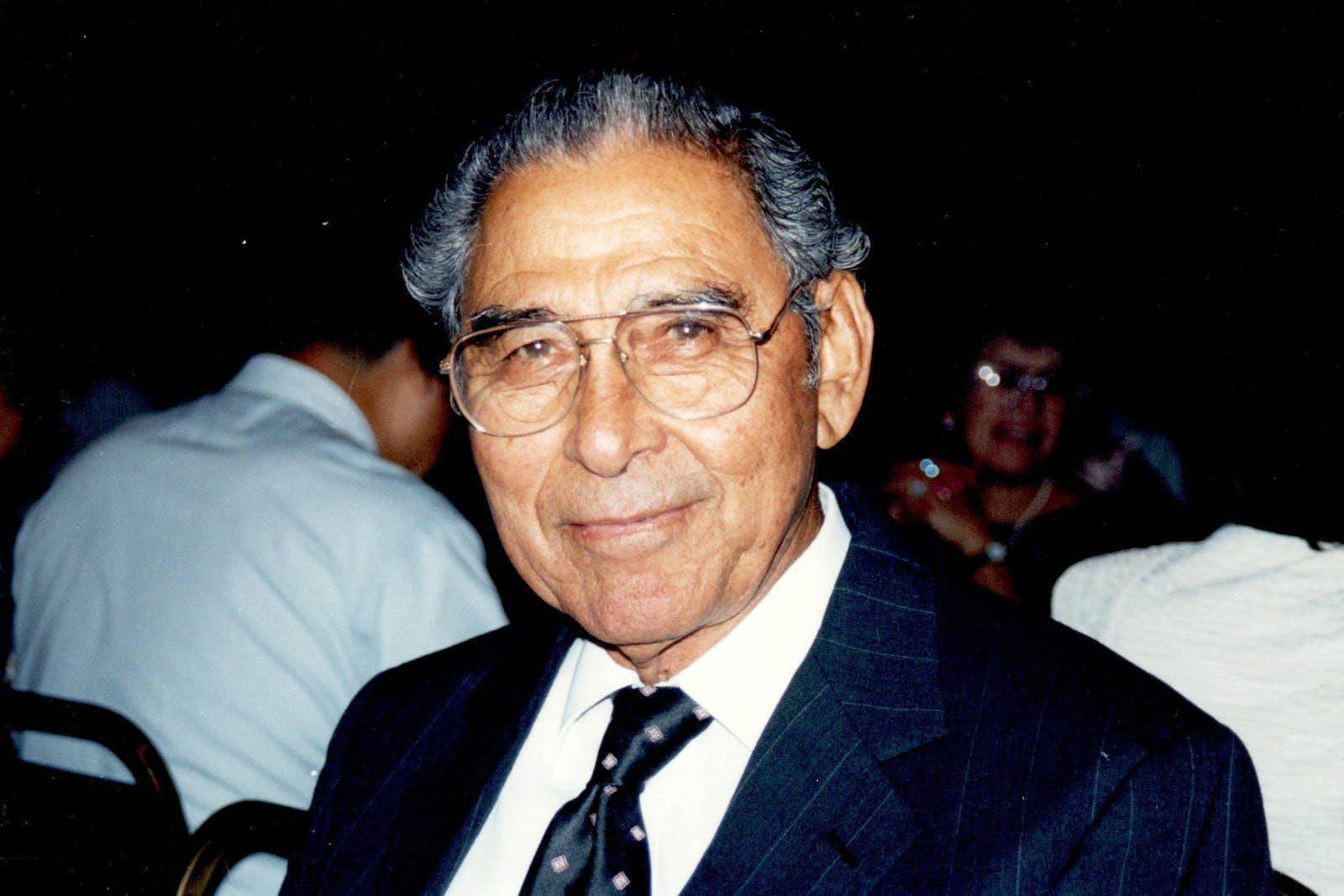 Everardo Cásares, the author's father.