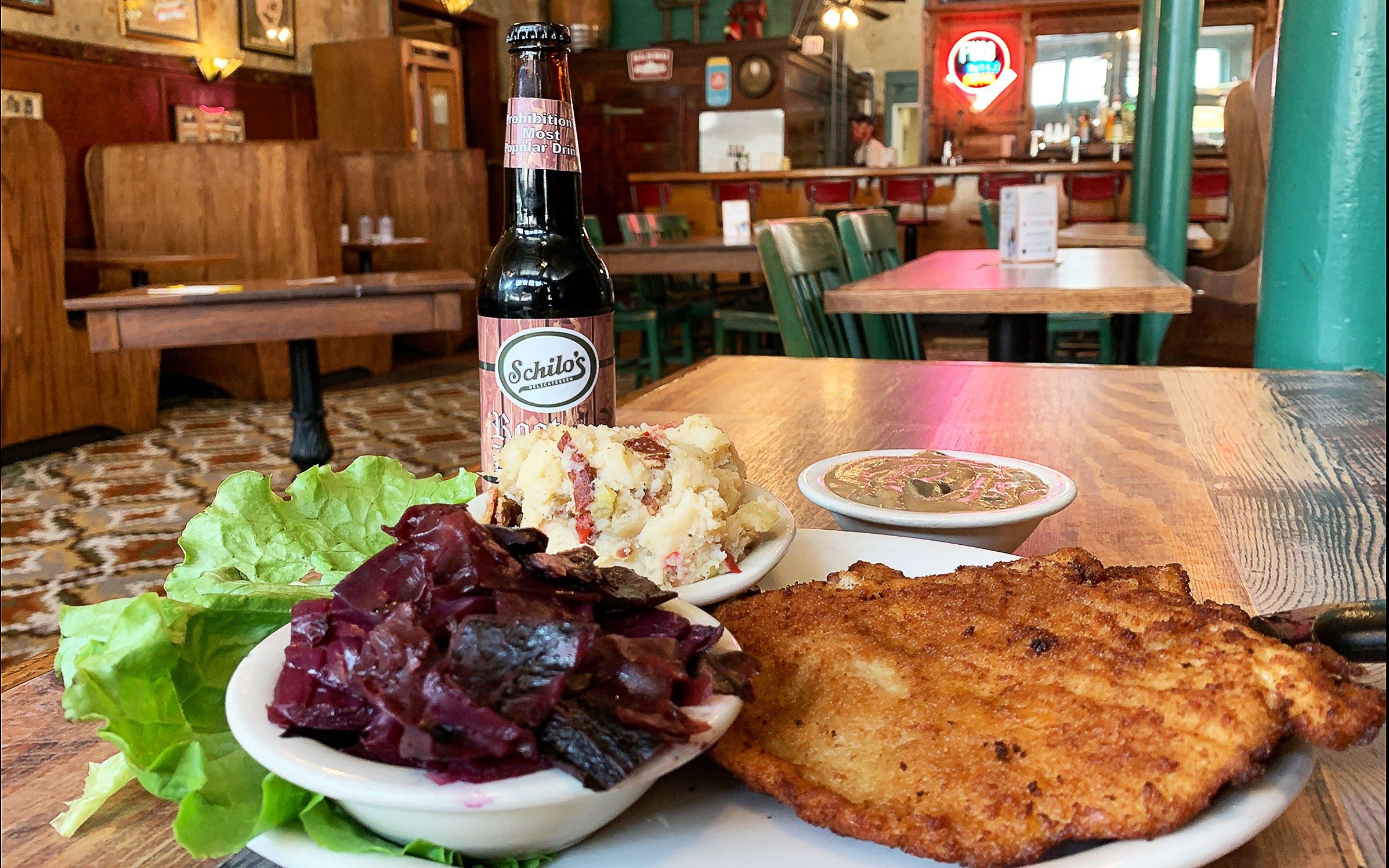 german-food-schilos-pork-schnitzel