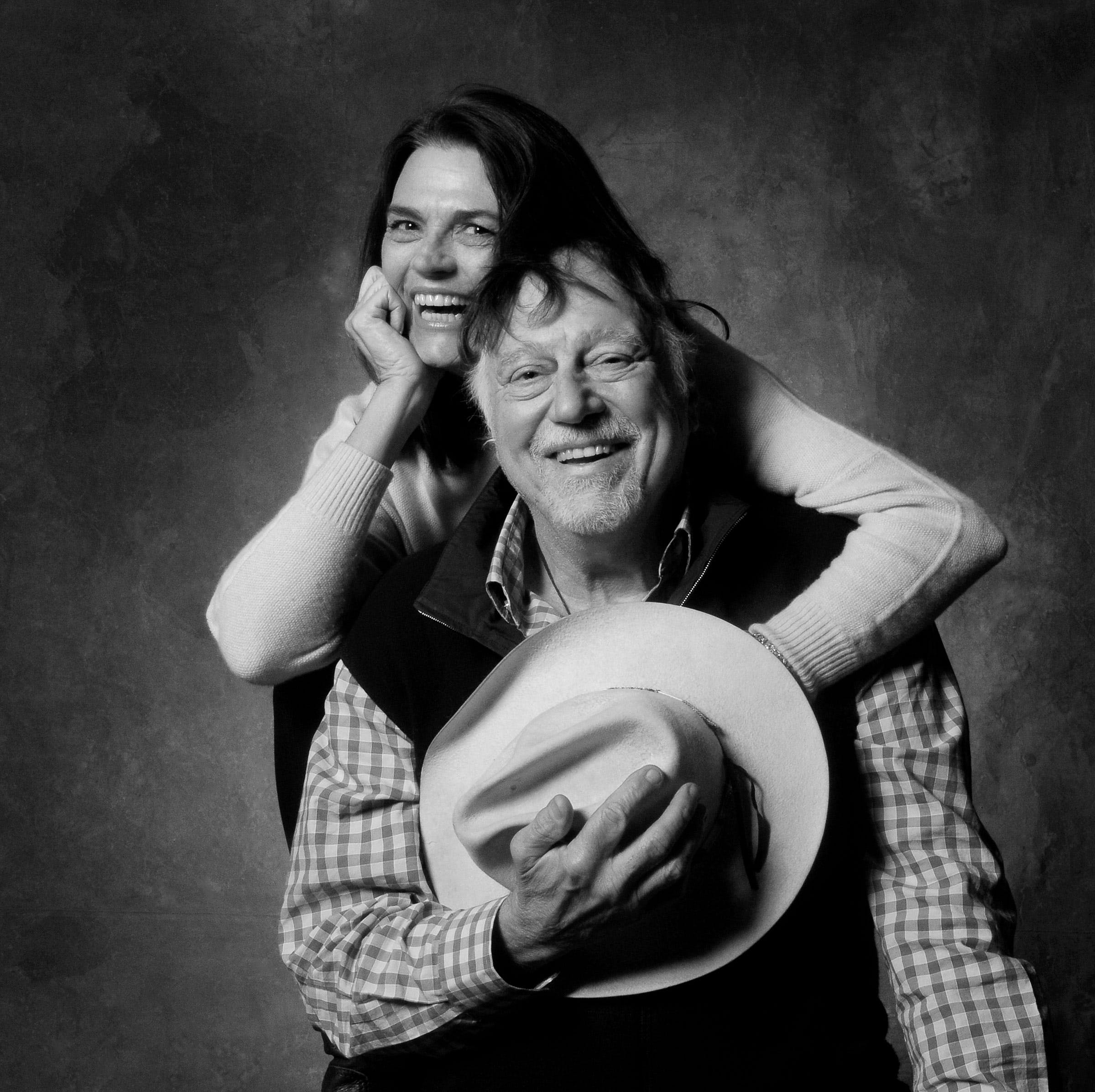 Jerry Jeff and Susan Walker, photographed in Nashville, 2014.