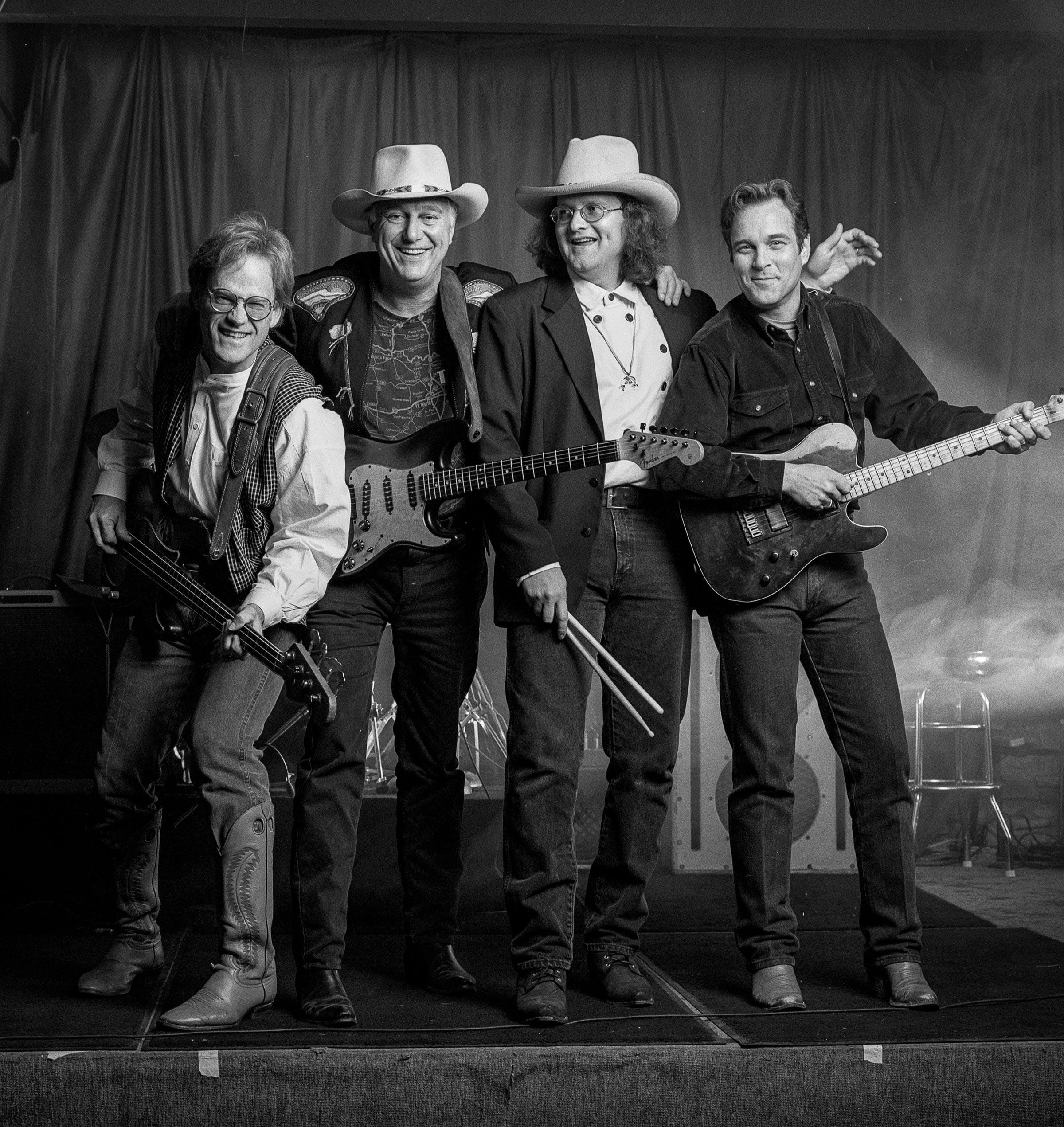 Bob Livingston, Jerry Jeff Walker, Freddie Krc, and John Inmon.