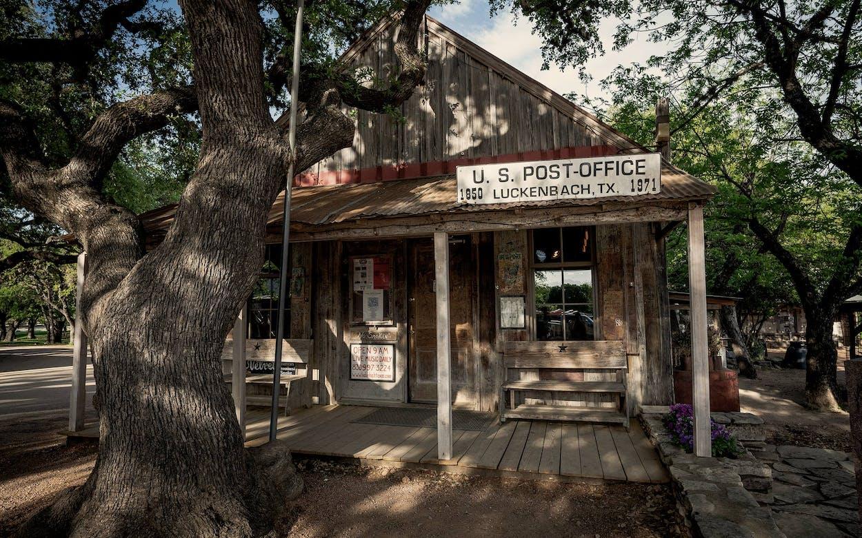 Luckenbach, Texas.