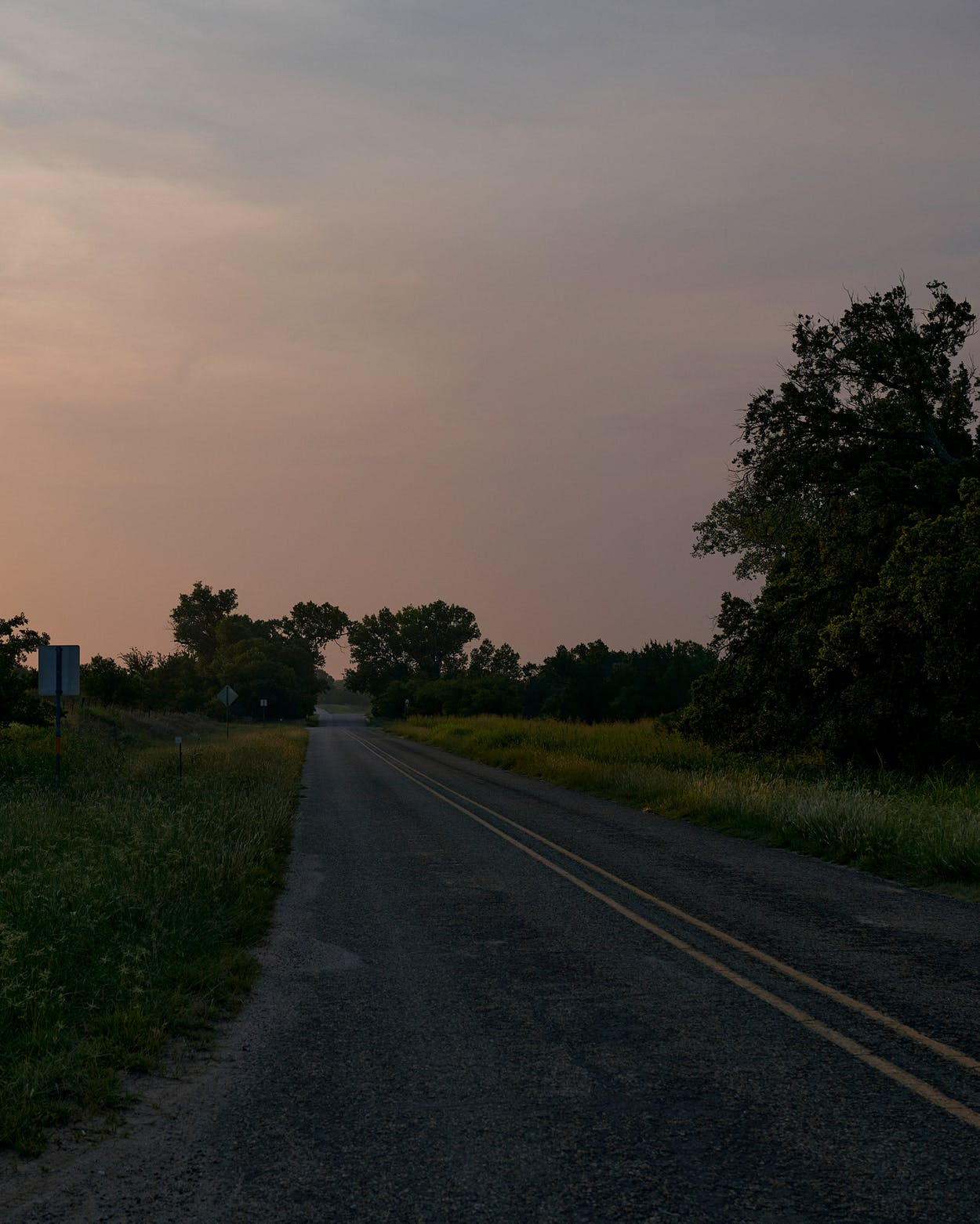 Lake Marvin Road, northeast of Canadian.