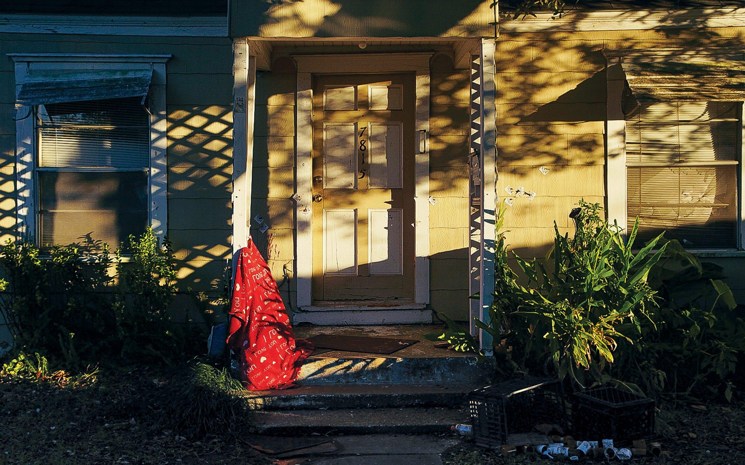 Rhogena Nicholas and Dennis Tuttle's home, in Houston.