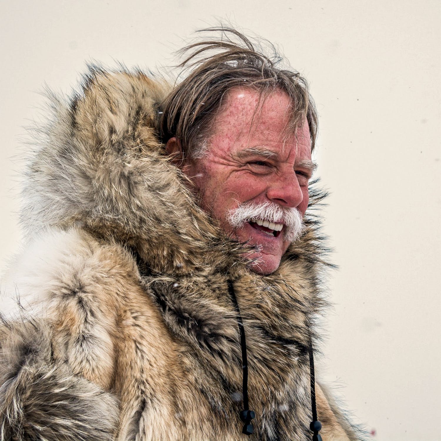 White at the geographical South Pole on December 14th, 2018, the date that Roald Amundsen and his men arrived at the South Pole in 1911.