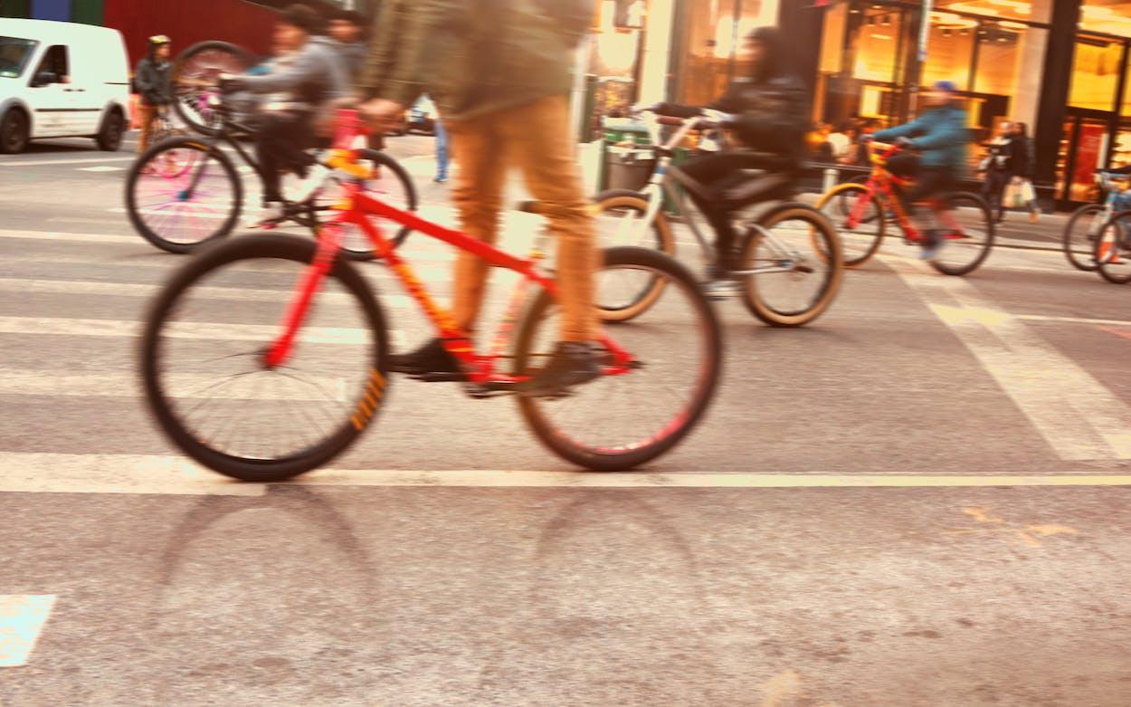 social bike rides houston