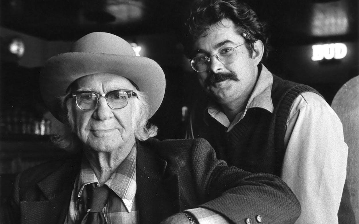 Kenneth Threadgill and Eddie Wilson, circa 1984.
