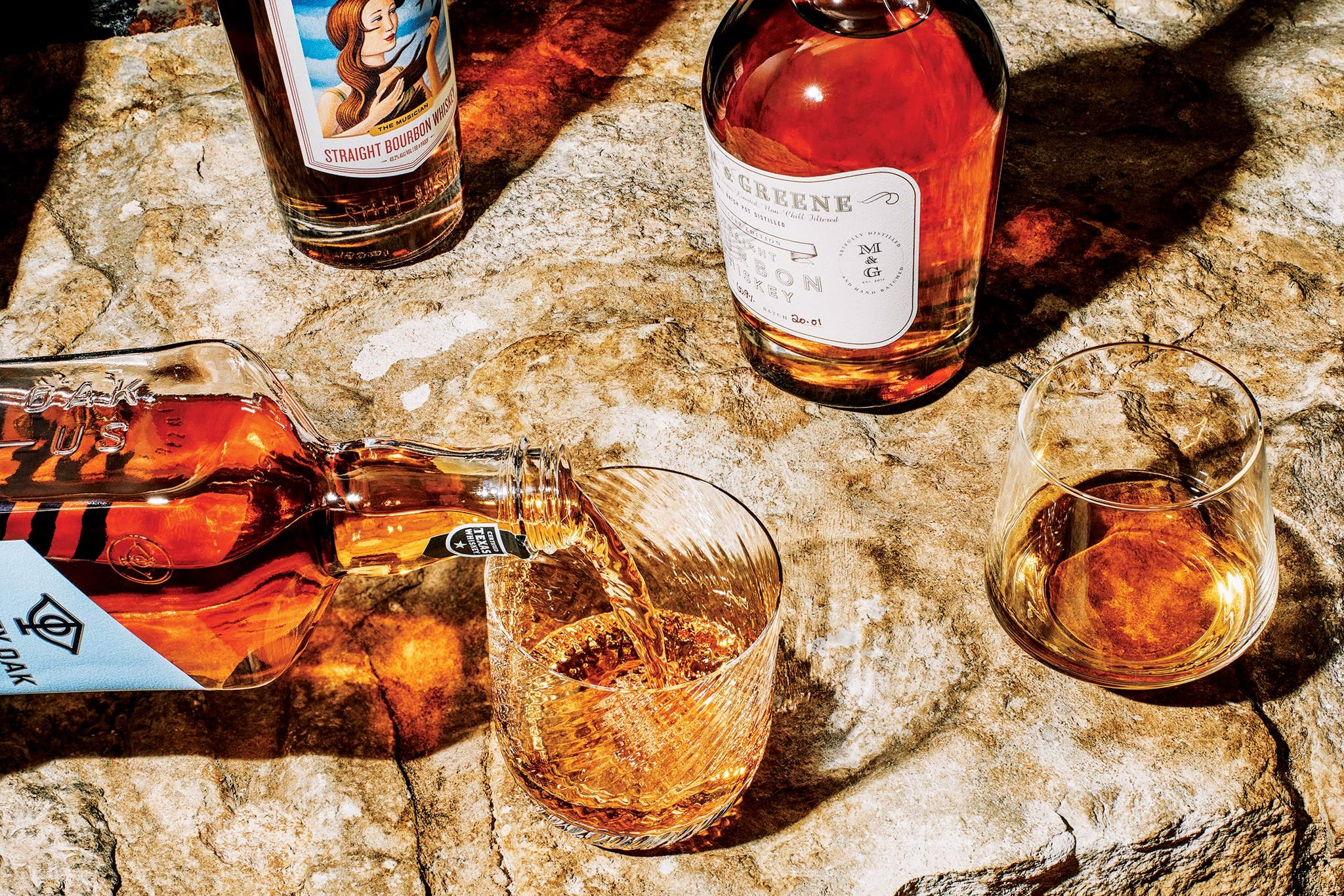 These new grain-to-glass bourbon releases are proof that the state's still-young whiskey industry is developing a bold regional profile.