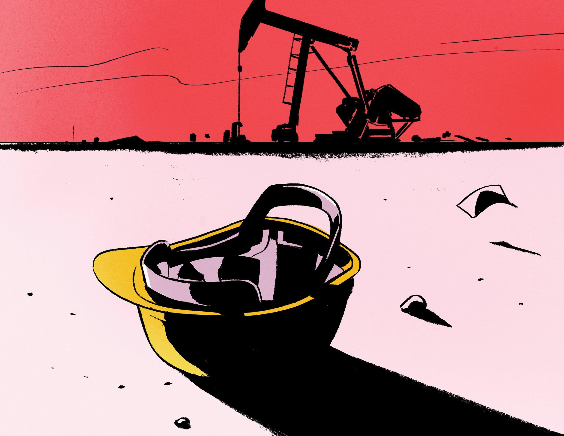 oil field occidental