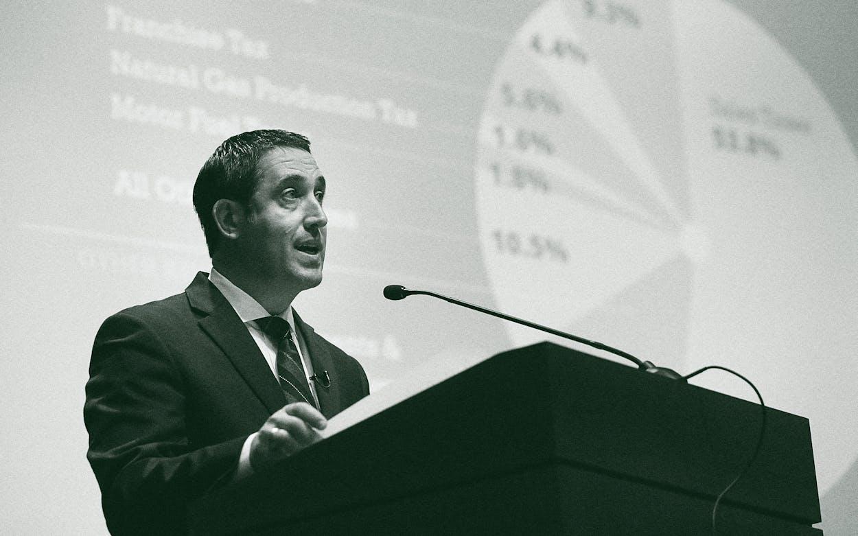 state budget Glenn Hegar