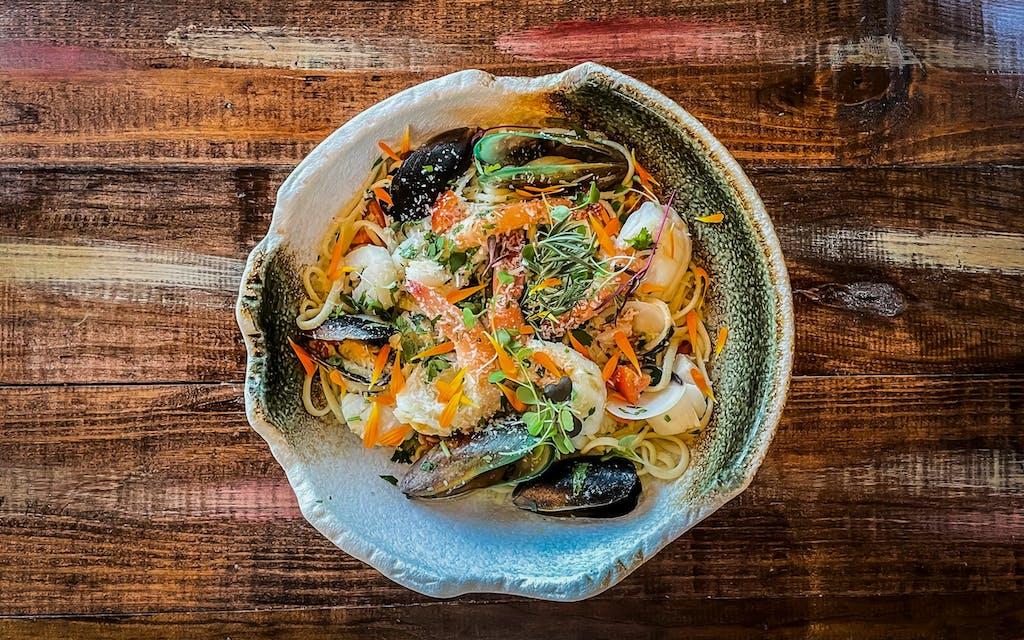 A dish at Espana Mediterranean Cuisine in McAllen.