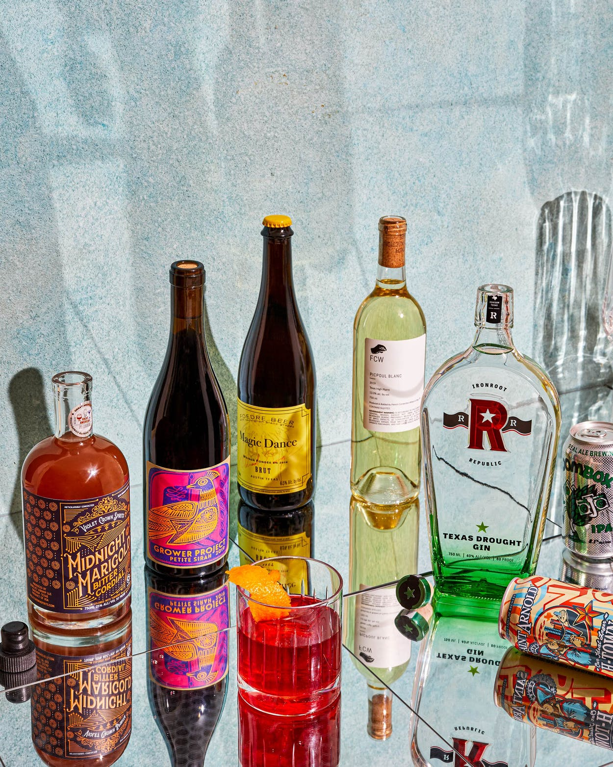Some of our favorite new Texas wines, beers and spirits.
