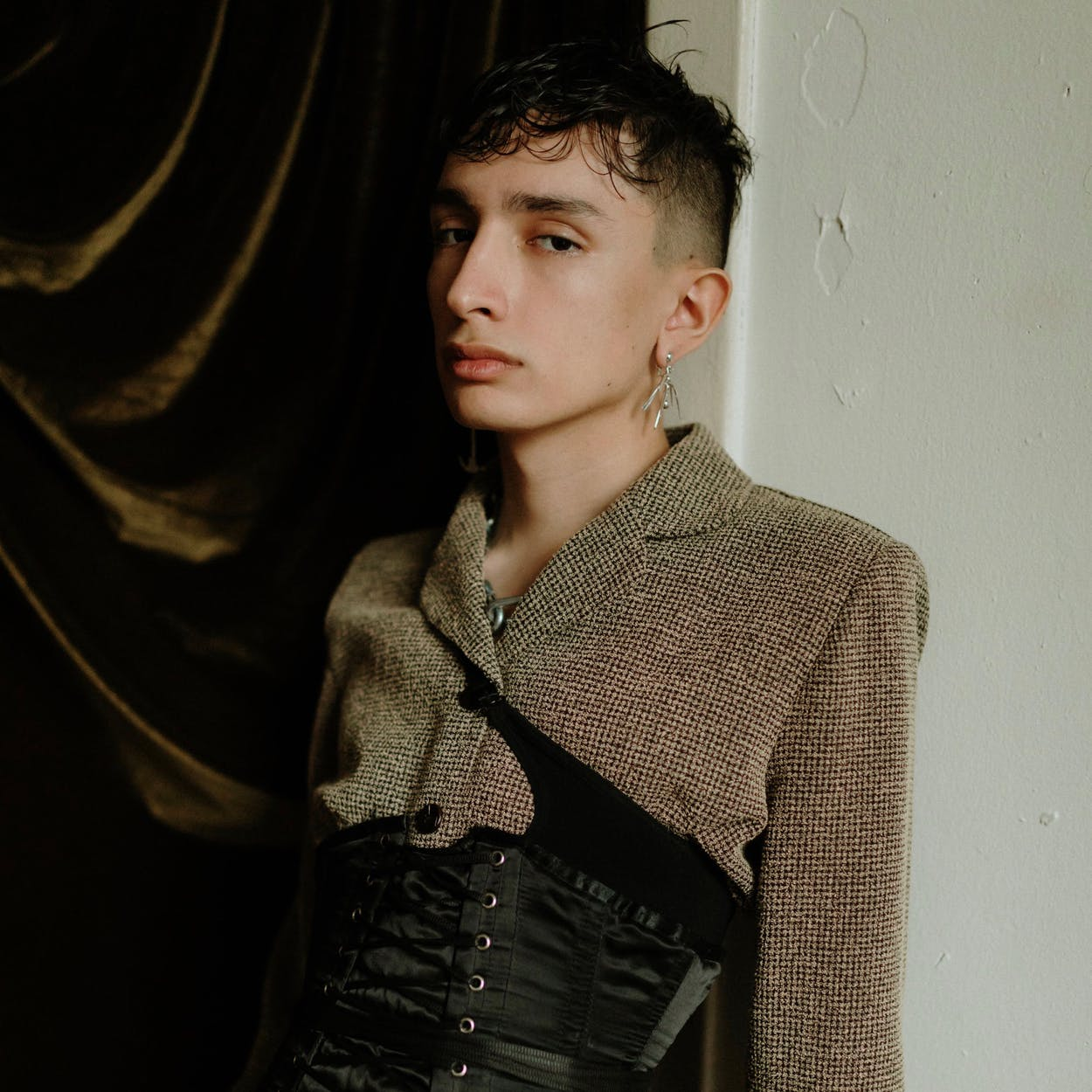 Andres Vidal, an f10 model, shot in Brownsville in February 2019.