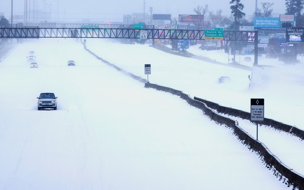 Houston snow