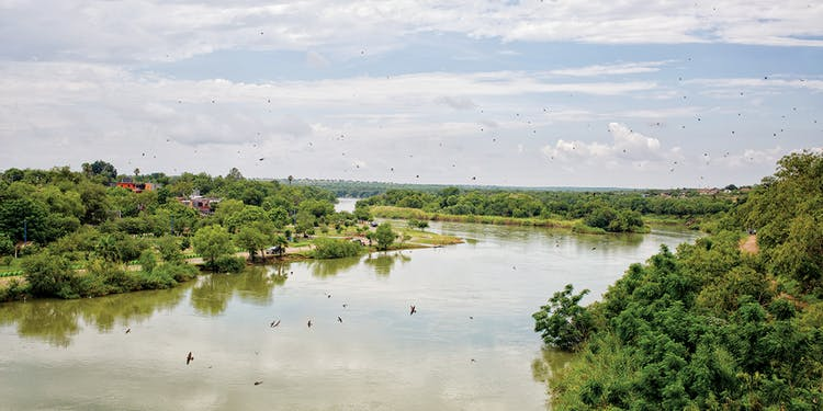 Miguel Aleman, on the Rio Grande