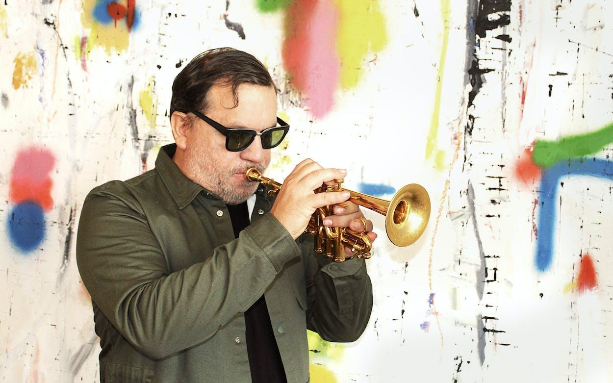 Rob Mazurek, west Texas jazz musician