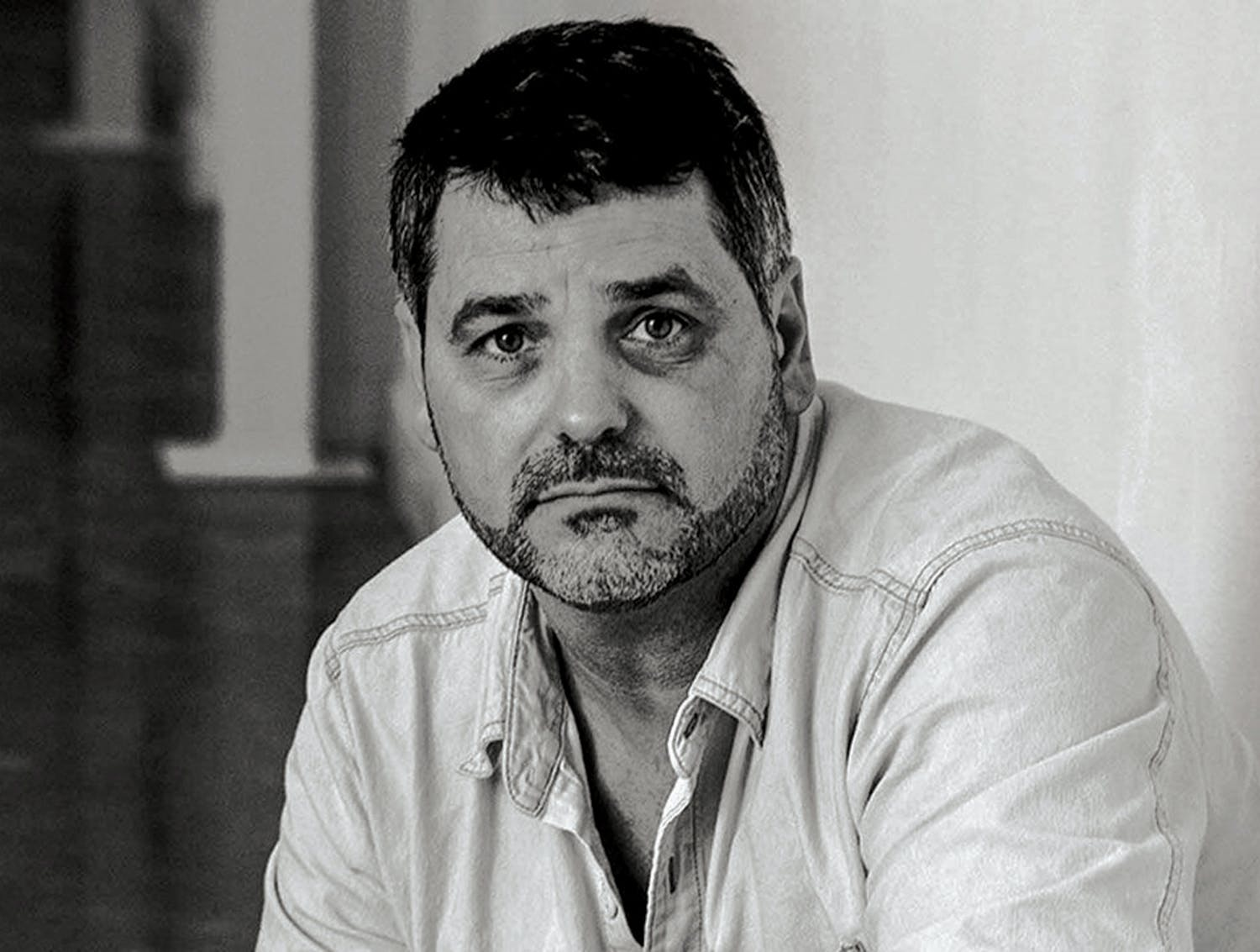 Jeff Leach, photographed for a Gulf News article published in December 2010.