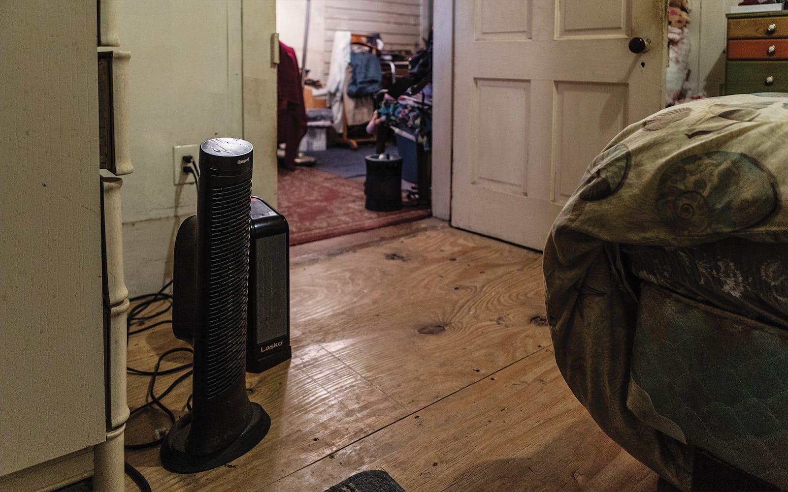 galveston winter storm space heaters