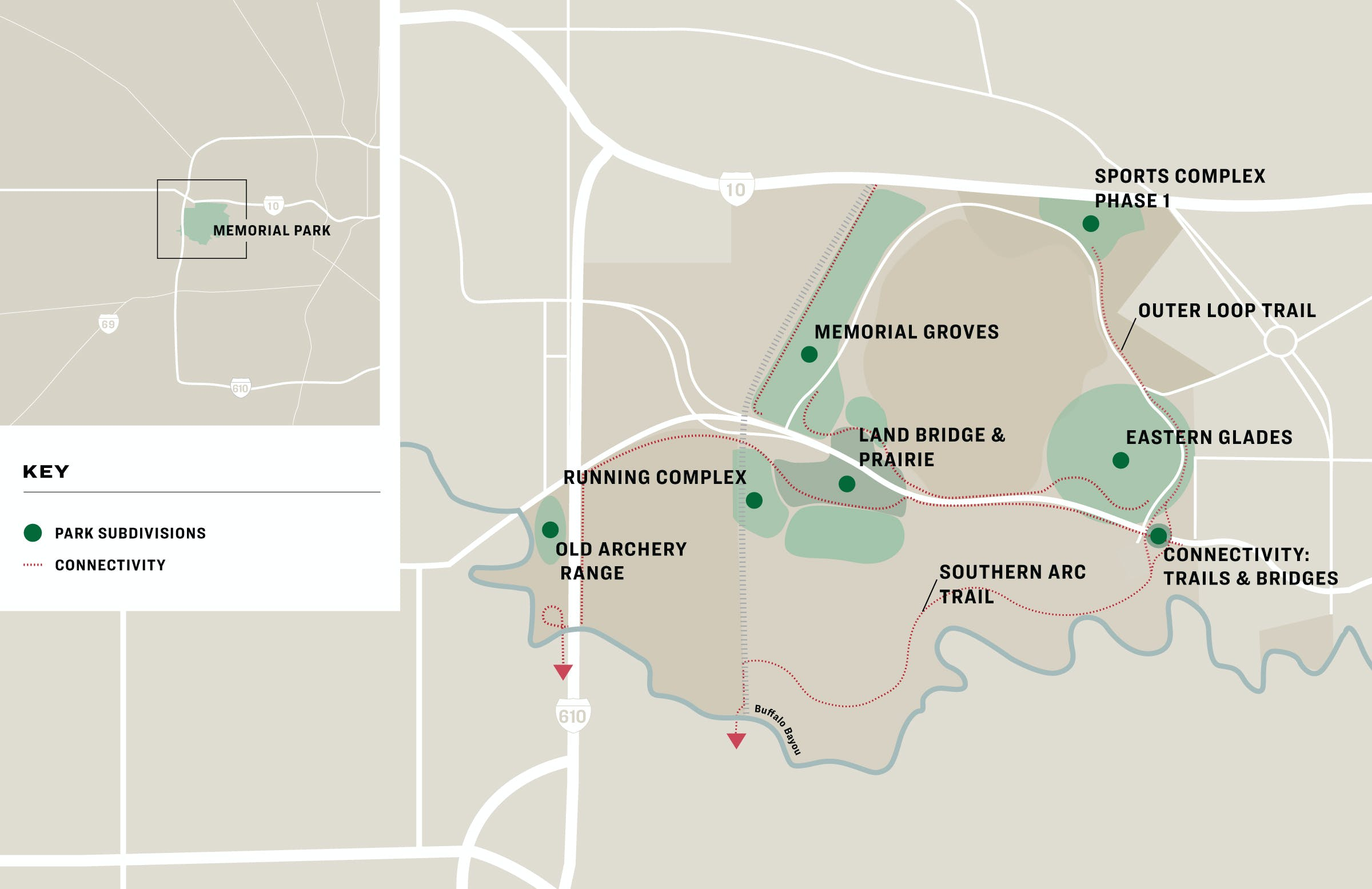 houston-memorial-park-design-map