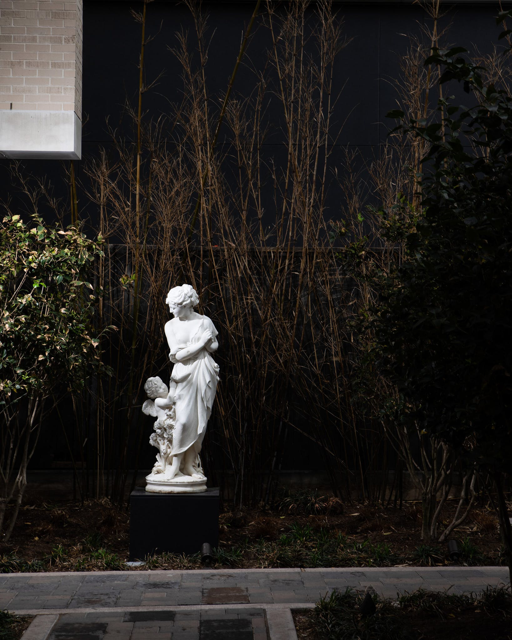 """This marble statue was carved by the Italian sculptor Pasquale Romanelli, whose similar work sold for nearly $68,000 at Christie's recently. But Steve didn't know its value when he found and purchased it. """"It was next to a doghouse at a junk shop that sold old furniture. This was in the late '60s,"""" he says. """"I gave him $500 for it, and I always had it sitting in the garden."""""""