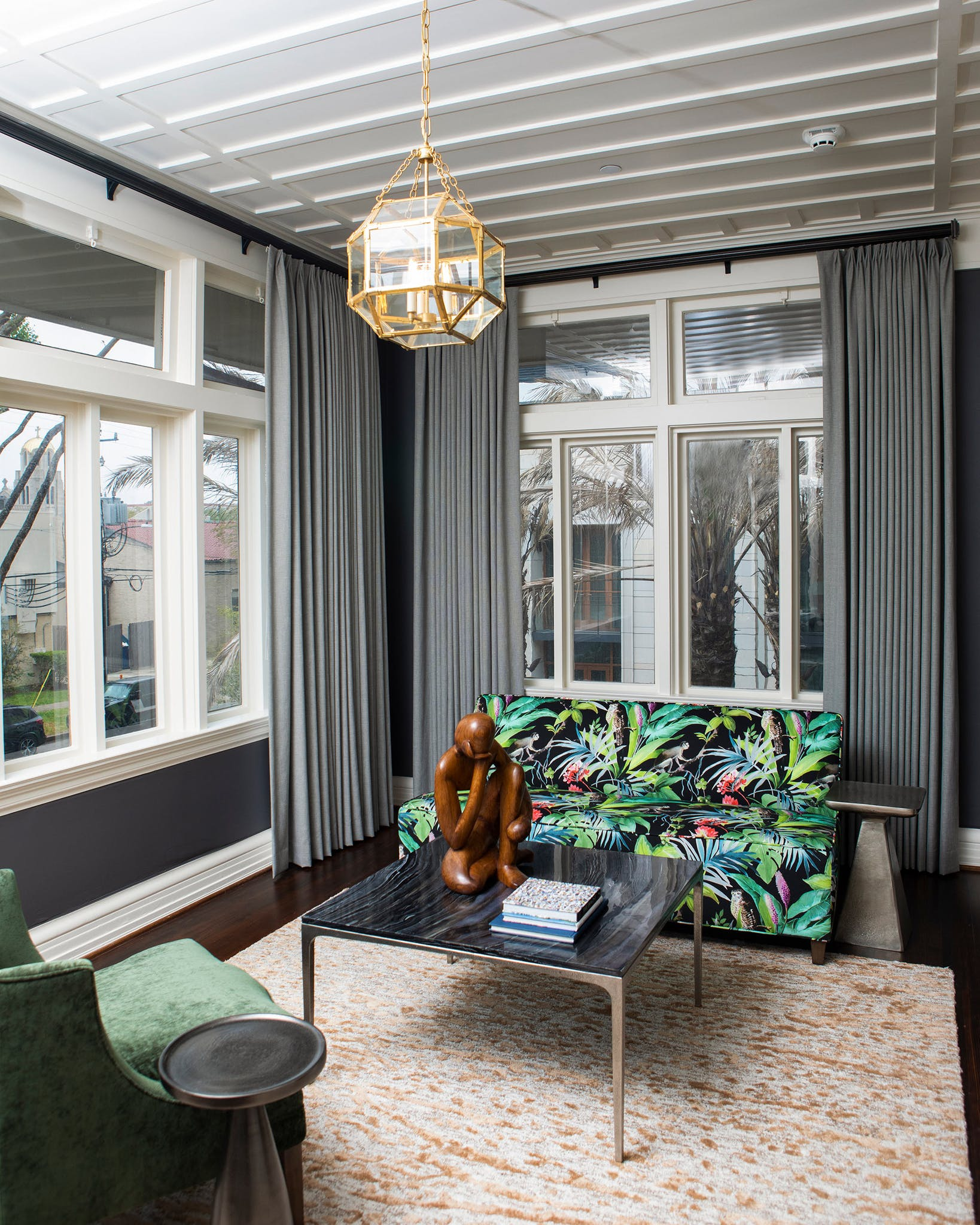 Each of the mansion's five suites has an original sleeping porch that has been transformed into a private sunroom.
