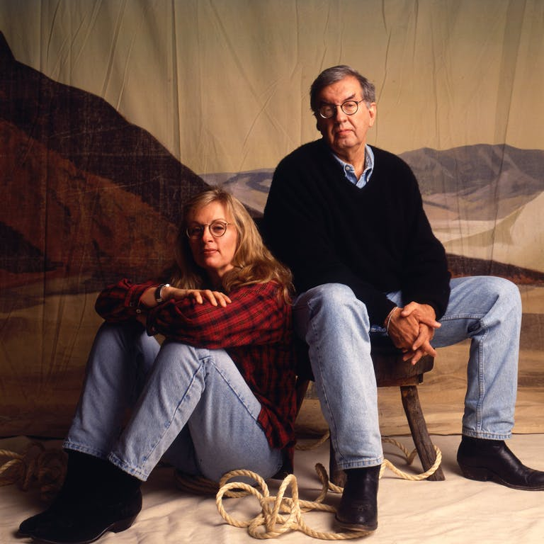 Larry McMurtry and Diana Ossana