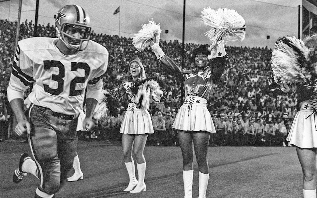 The Dallas Cowboys cheerleading squad, 1970.