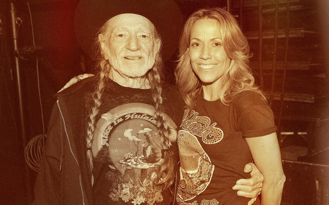 sheryl crow and willie nelson