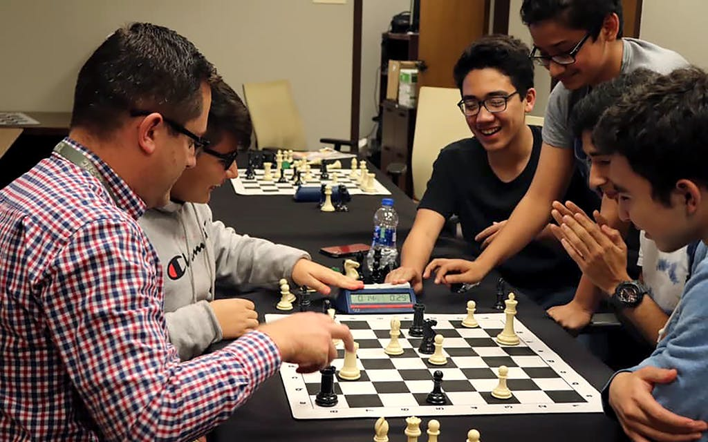 Local community event with UTRGV Chess Program