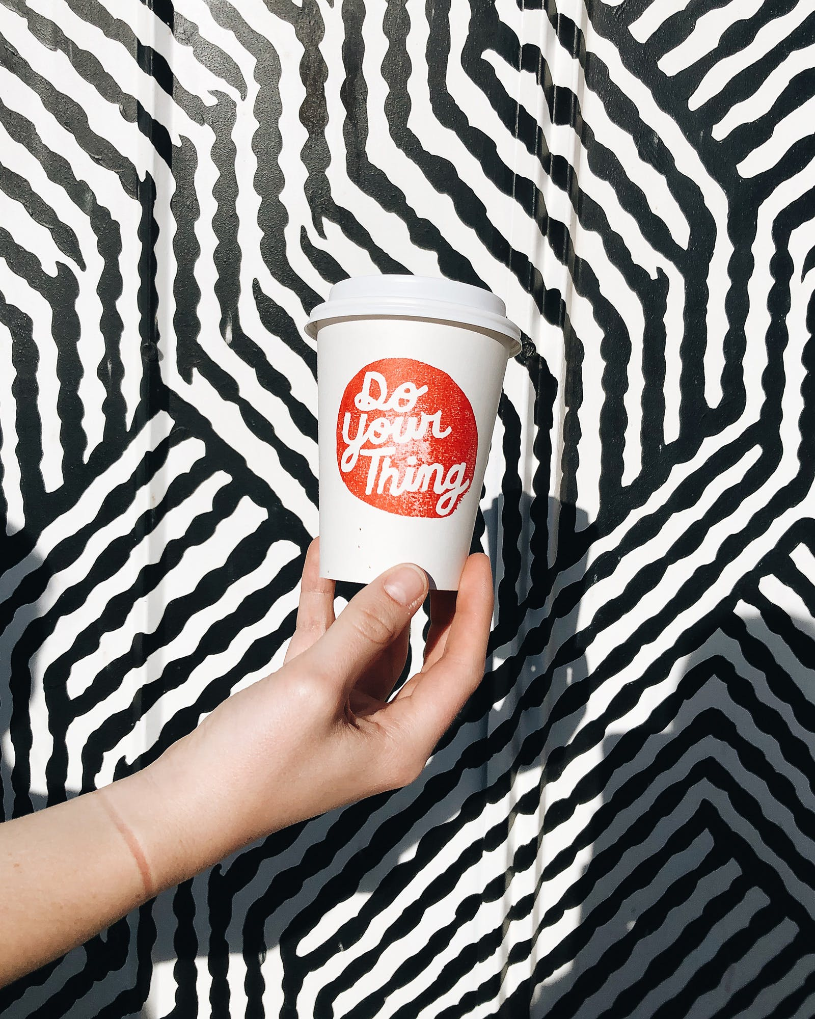 Coffee from Do Your Thing in Marfa.
