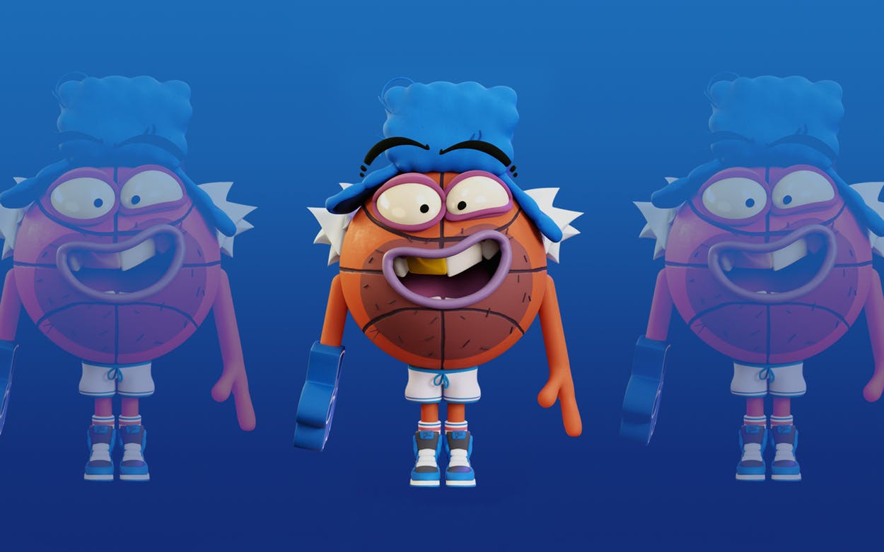 Mavrello, the new mascot of the Mavericks.
