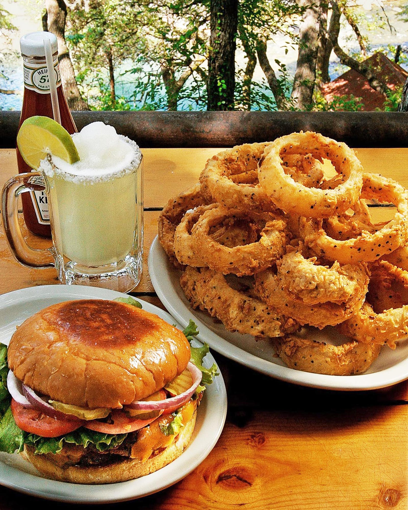 Gristmill River Restaurant and Bar Onion Rings