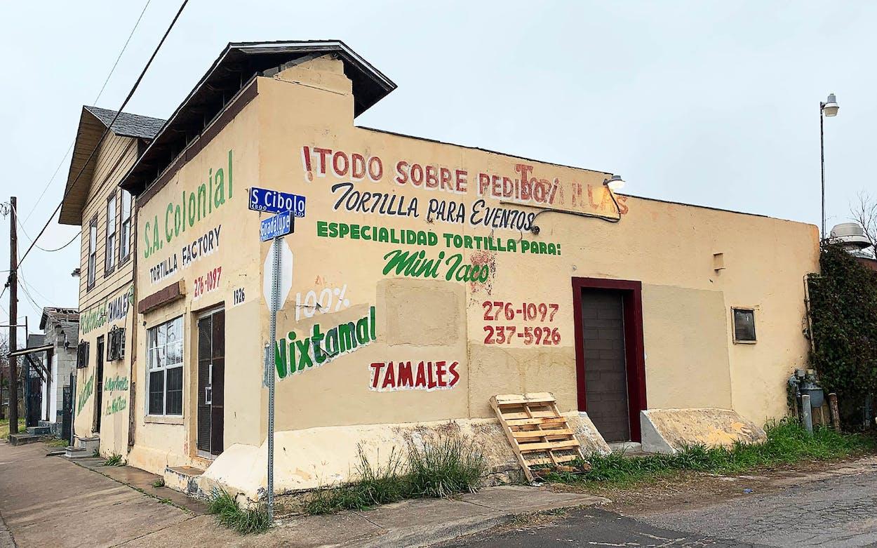 san antonio colonial tortilla factory