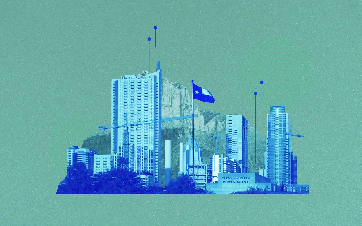 texas technology boom illustration
