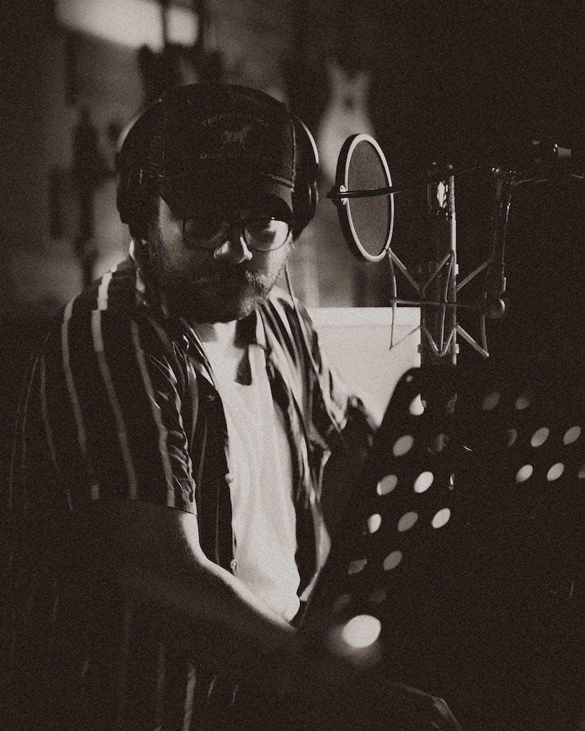 David Ramirez Recording at the Bunker