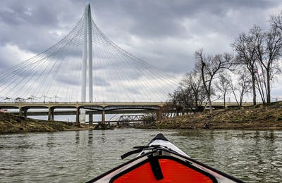 Kayaking the Trinity in Dallas