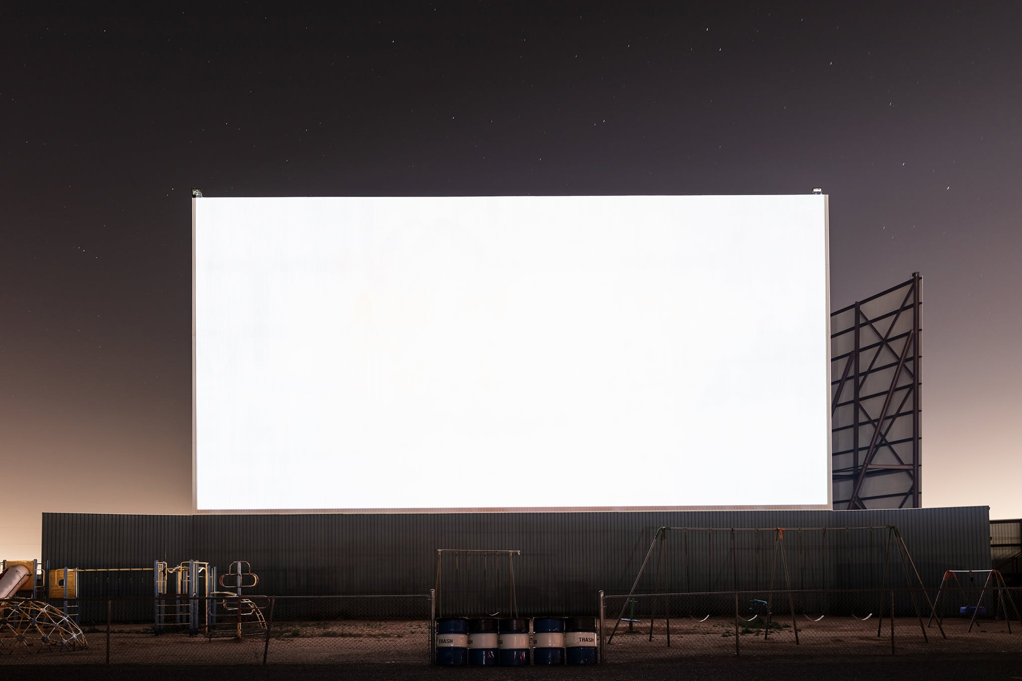 Big Sky Drive-In, in Midland.