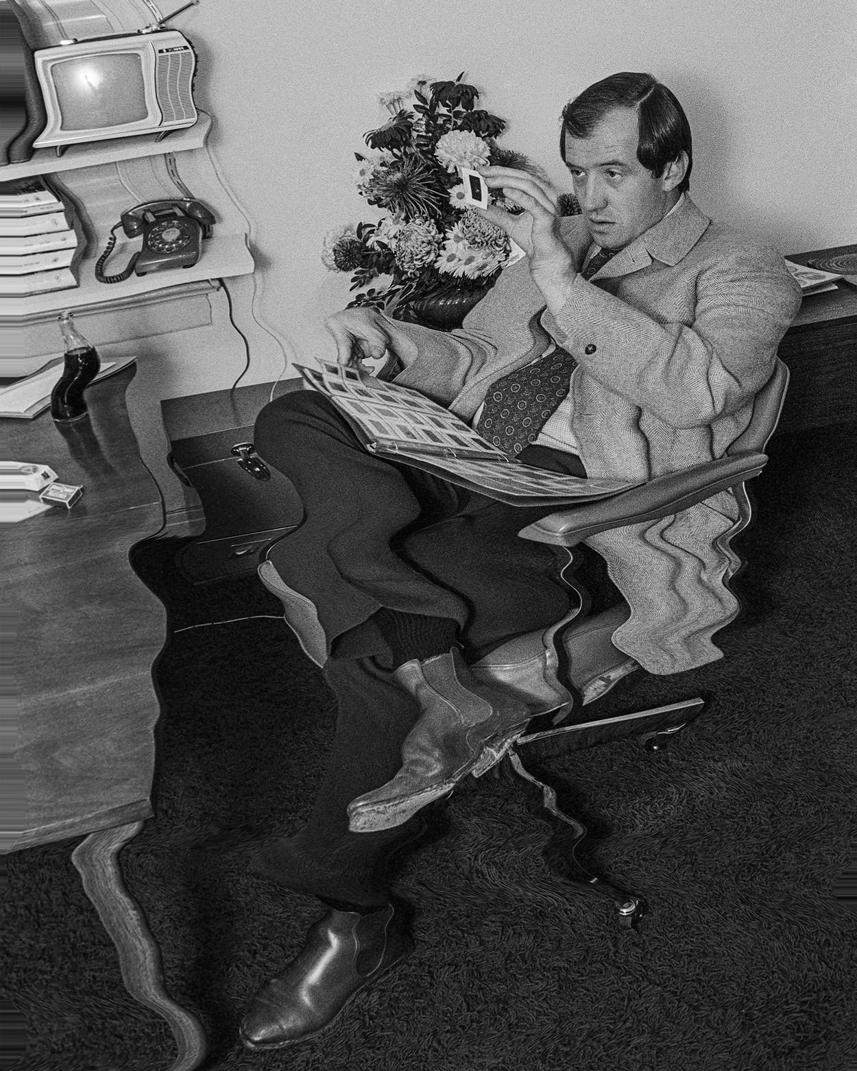 Hickey in his office on November 13, 1969.