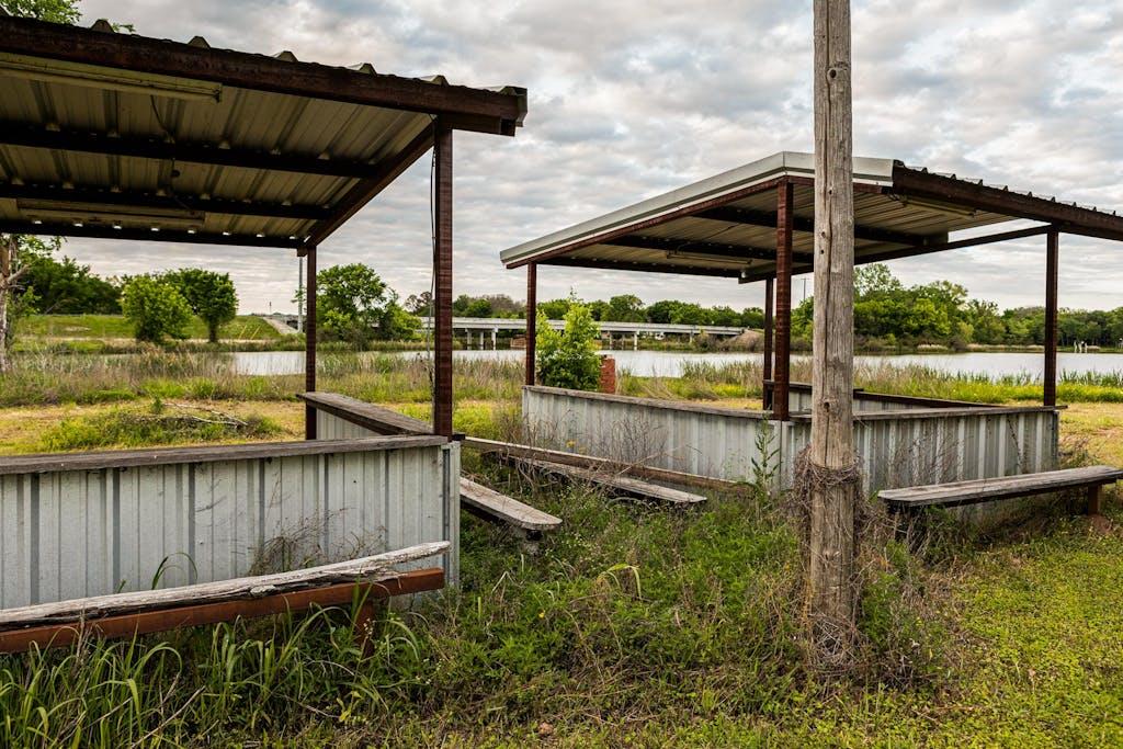 Concession Stands, Booker T. Washington Park, Comanche Crossing