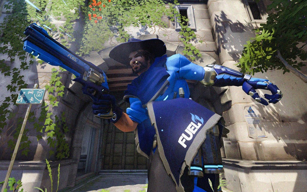 A still from a game last year against the Houston Outlaws.