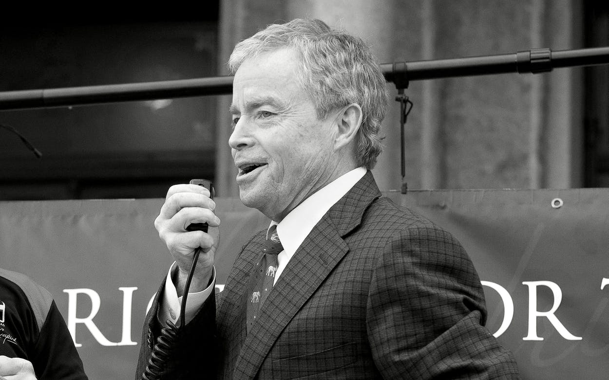 Don Huffines at an Open Carry Texas rally in Austin on January 13, 2017.