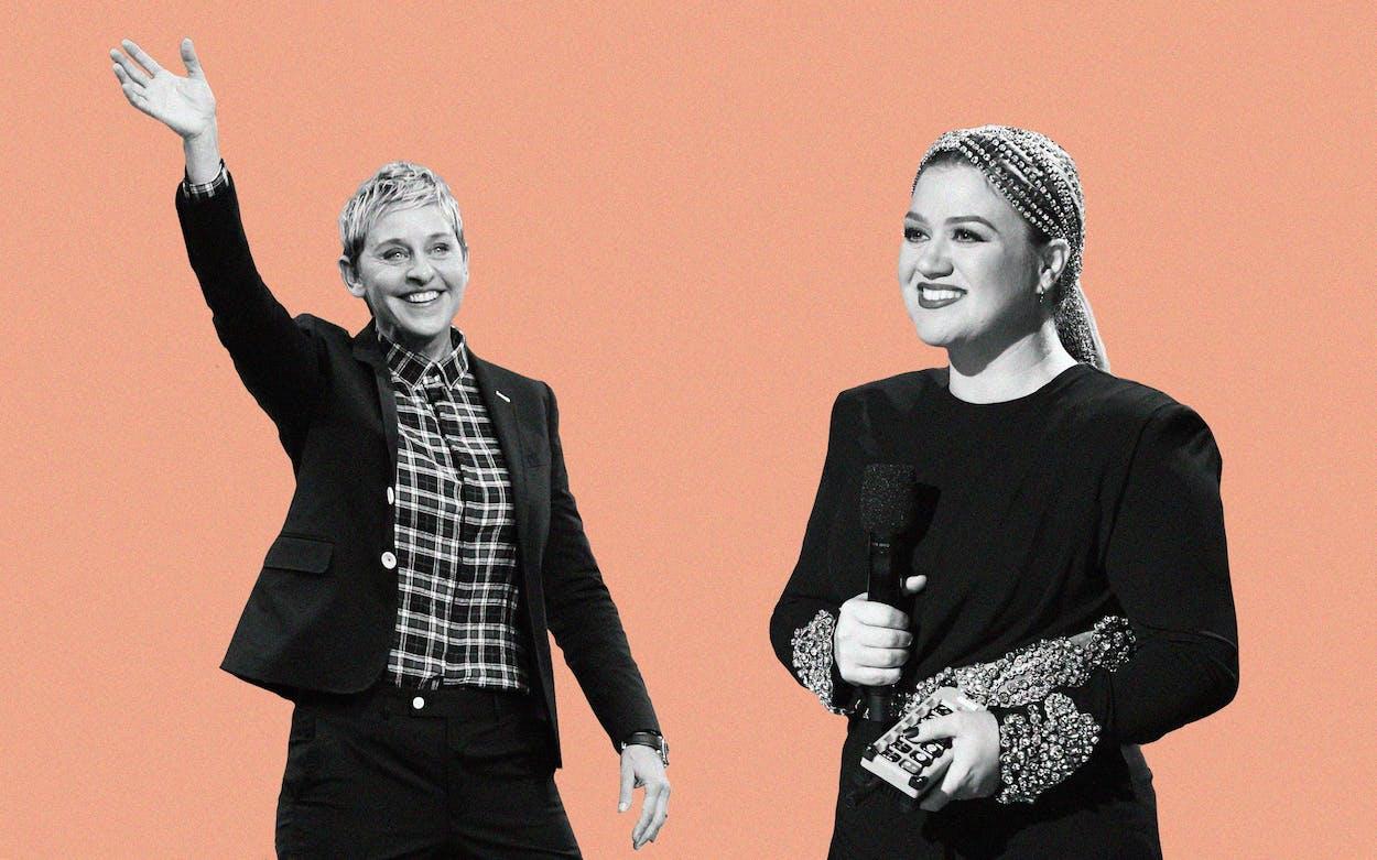 Ellen Degeneres Kelly Clarkson Talk Show