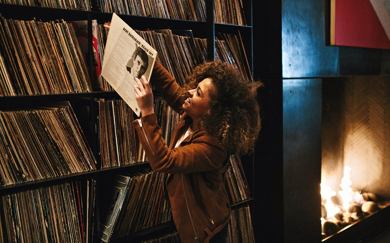 The Record Room at W Austin.