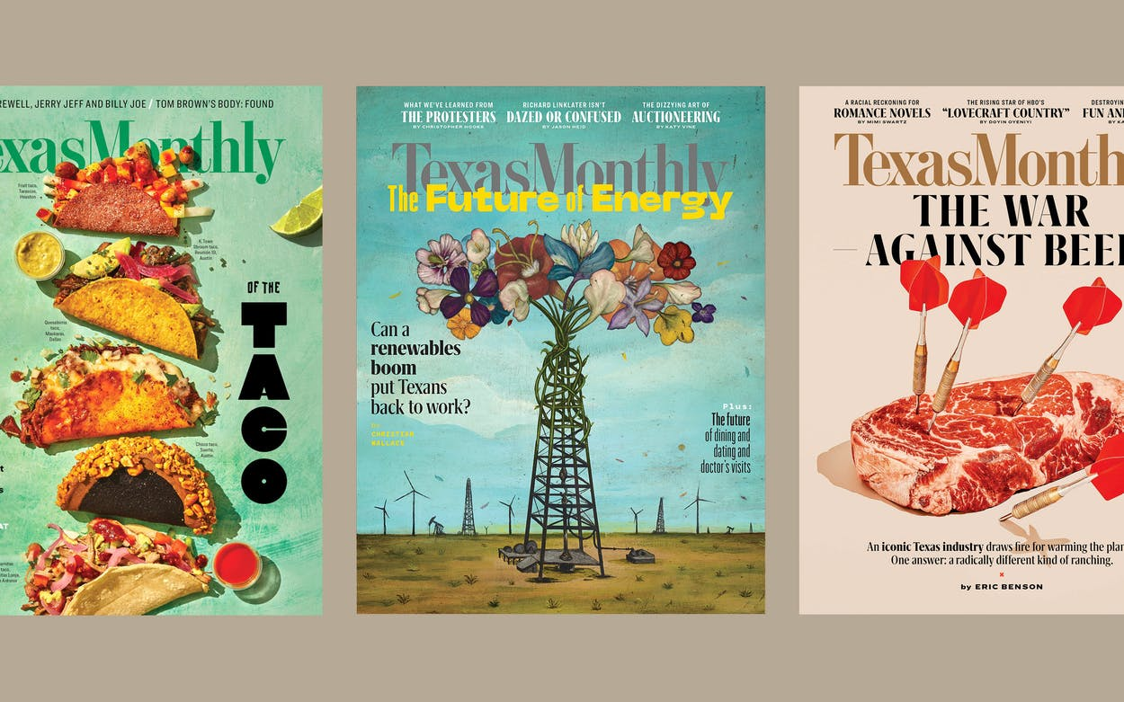journalism awards texas monthly